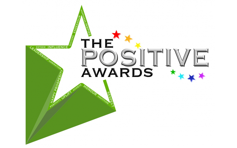 2 tickets to the Positive Awards plus holistic hamper of goodies