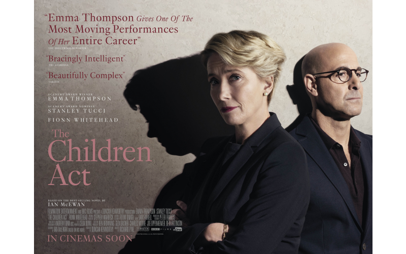 Pair of tickets to the premiere of The Children Act