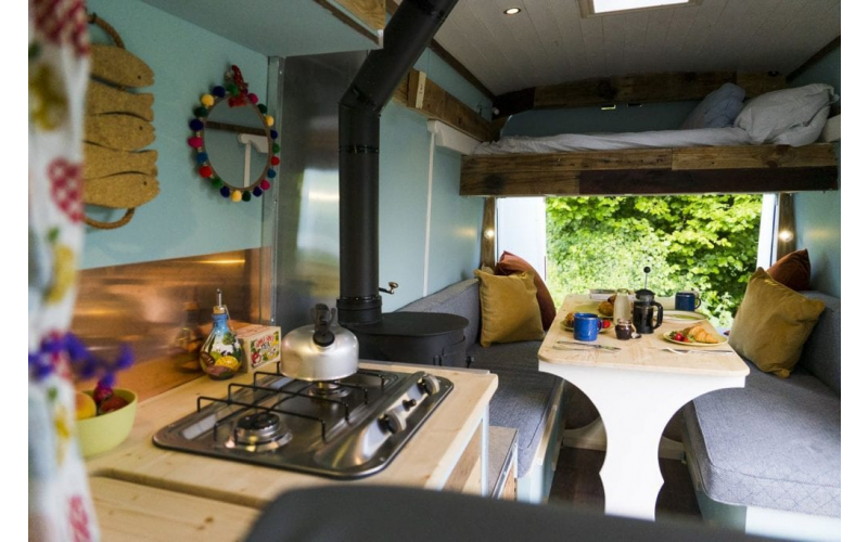 Win a weekend in a Quirky Camper!