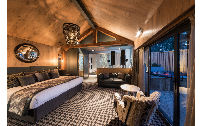 A treehouse break for two at Ramside Hall Hotel Golf and Spa
