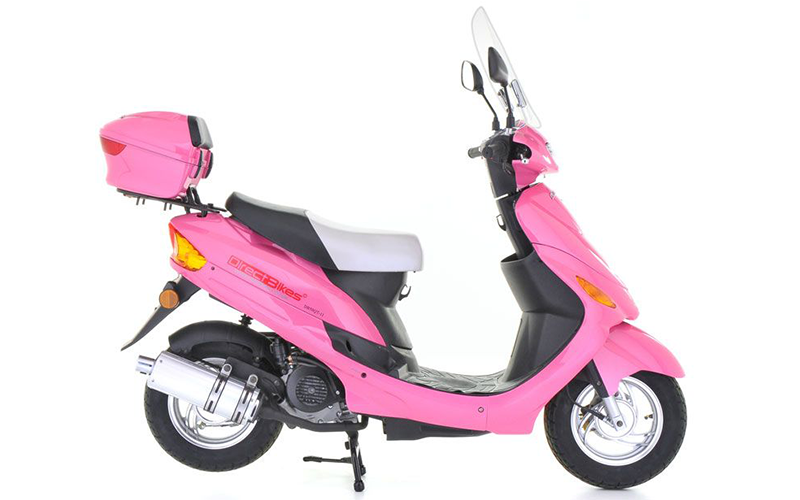 Moped Colour Pink