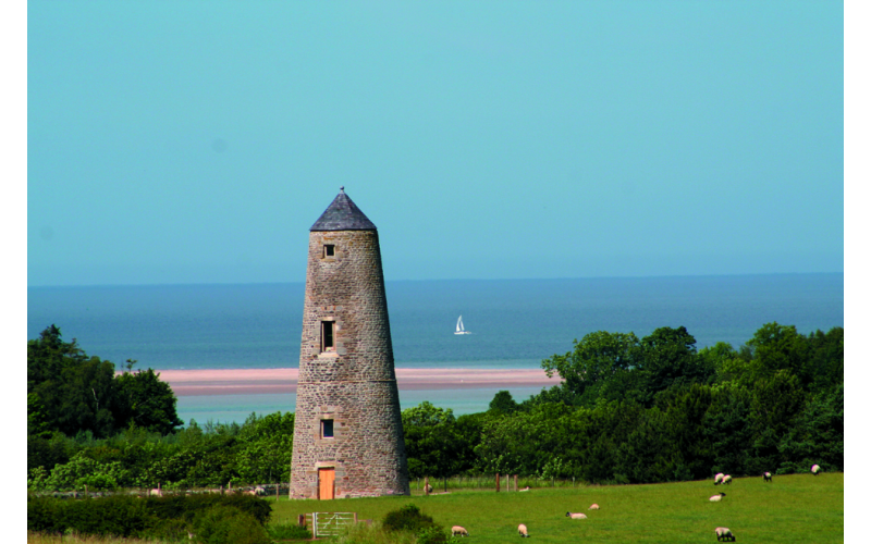 A 3-night weekend for 2 adults to stay in a beautiful 5-star stone tower overlooking Holy Island