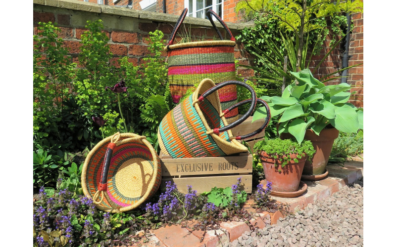A Trio of Handcrafted Baskets from Exclusive Roots