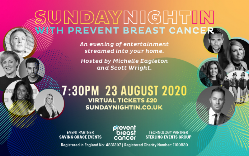 A virtual ticket to Sunday Night in with Prevent