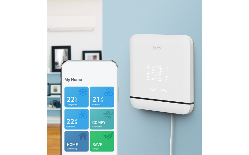 Win a tado° smart air conditioning control worth £89.99 to save money and the environment!