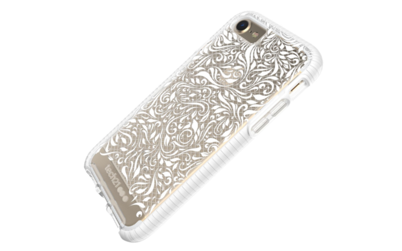 Tech21 Impact Clear Lace Edition for iPhone 7 or 7 Plus