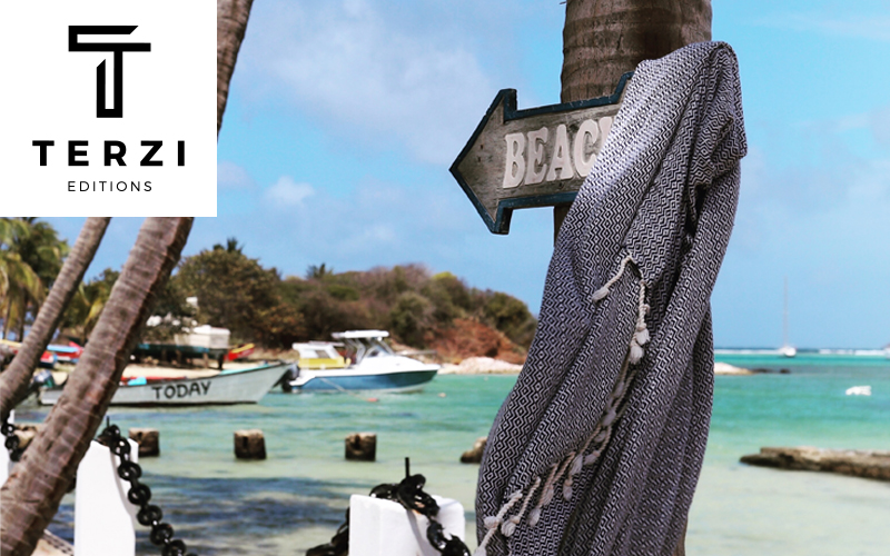 The Terzi Editions Holiday Bundle. The Holiday Bundle contains all five towels from the Super-Luxe Edition and would be worth £160 to buy. Each Super-Luxe beach