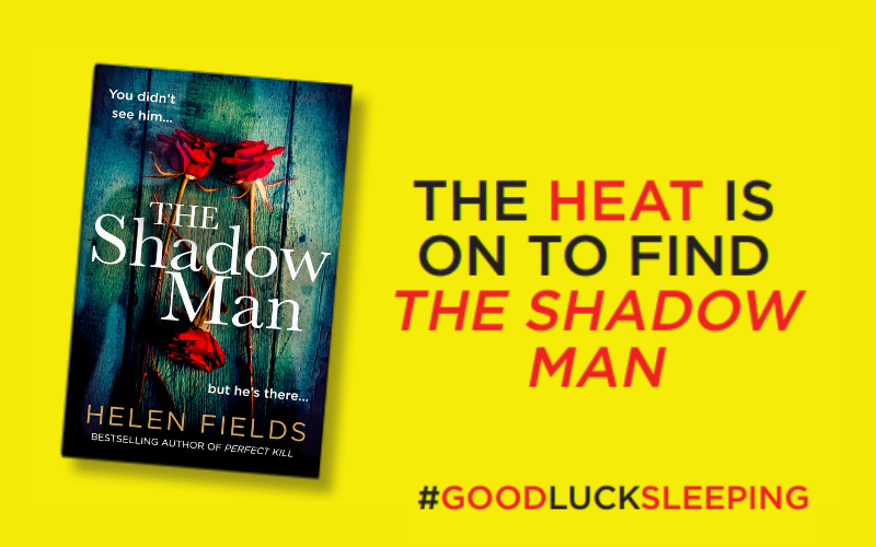 Win a paperback copy of The Shadow Man and a Limited Edition Heat Mug