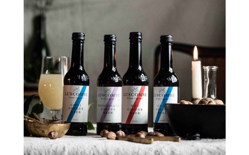 A year's supply of Luscombe drinks this Christmas and enjoy a little taste of Devon all year round, delivered to your door!