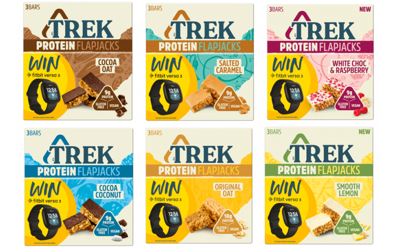 Win! A year's supply of TREK and a Fitbit worth £500