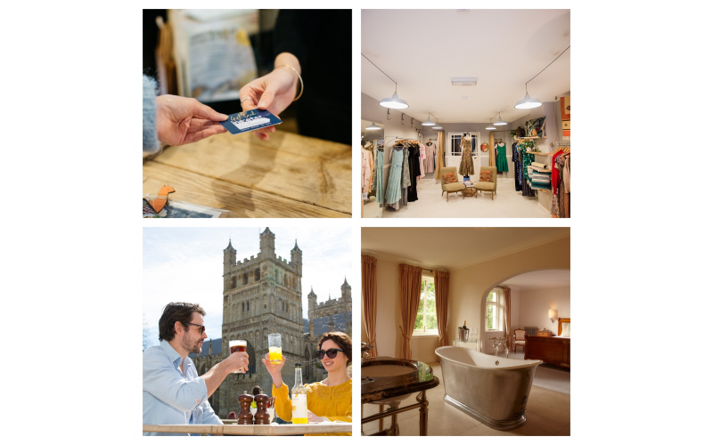 Celebrate romance with a stay for two and a boutique shopping experience with InExeter