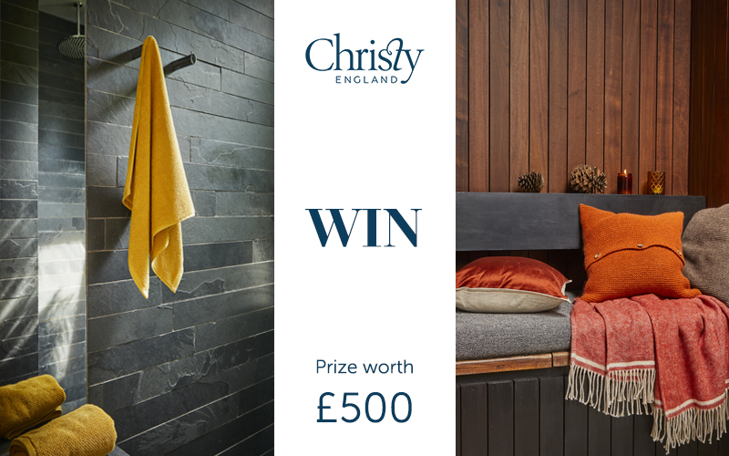 WIN One £500 RRP Christy Vouchers