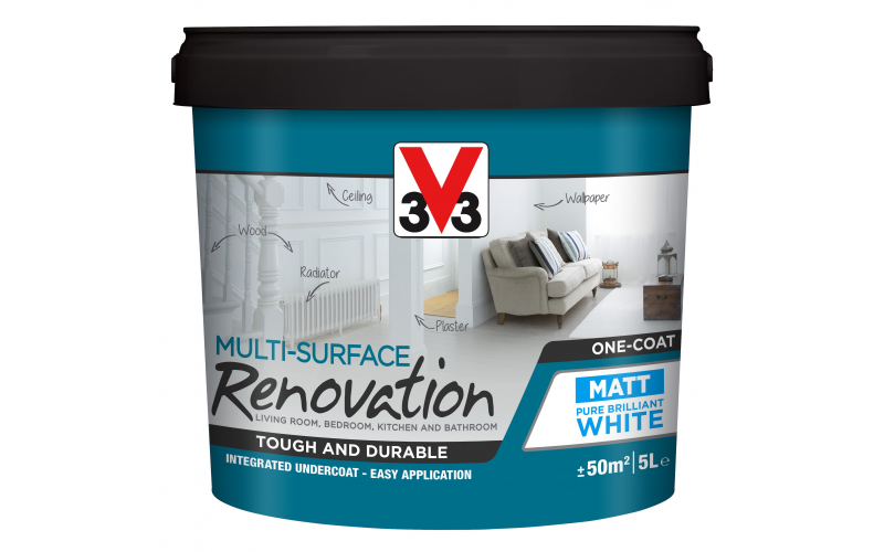 Win a Tub of V33 Multi-Surface Renovation white paint