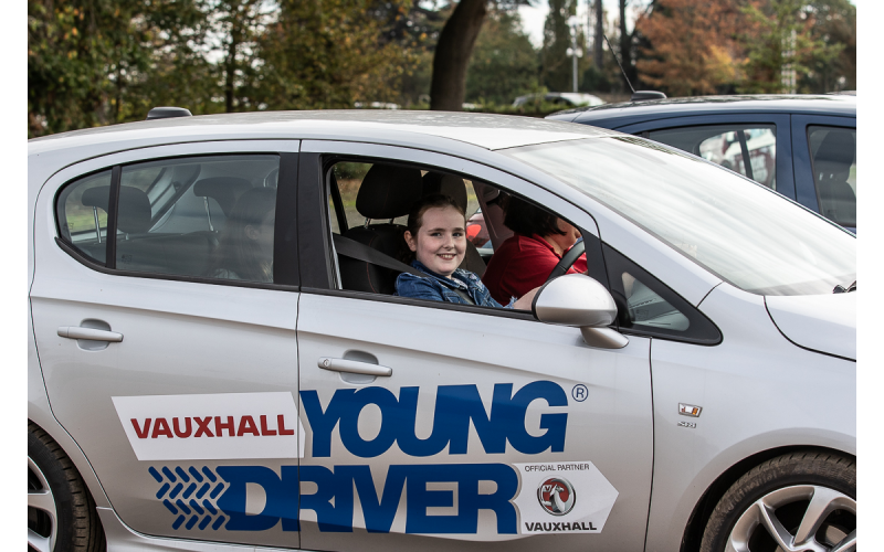 Win a Young Driver lesson for 10 to 17 year olds