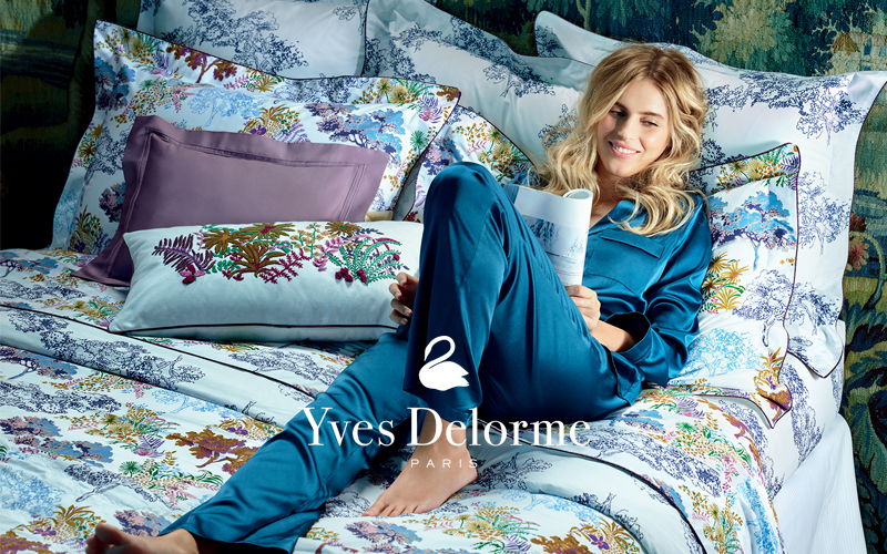 Win an Yves Delorme Paysage bedt set