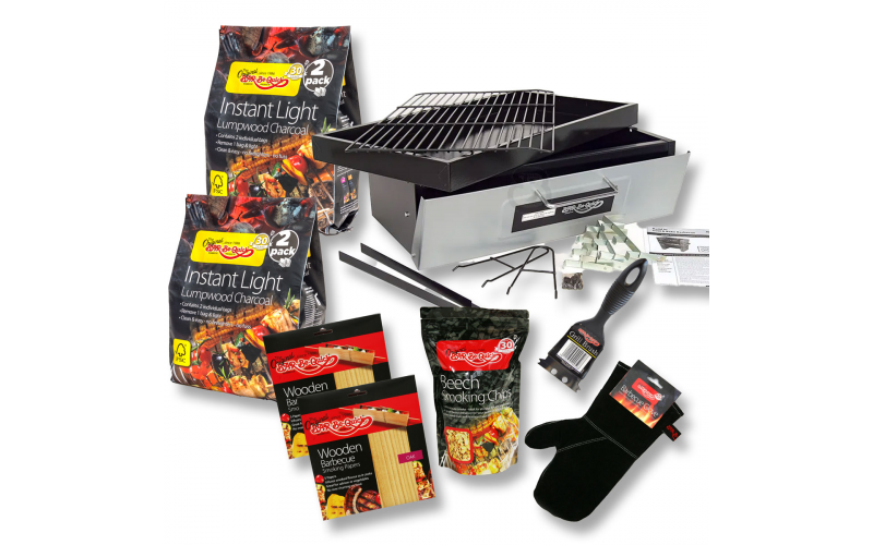 WIN A BUILD-IN BARBECUE KIT WORTH £100