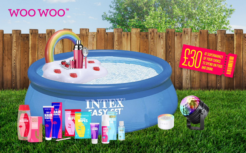 Win a hot summer staycay party bundle with WooWoo