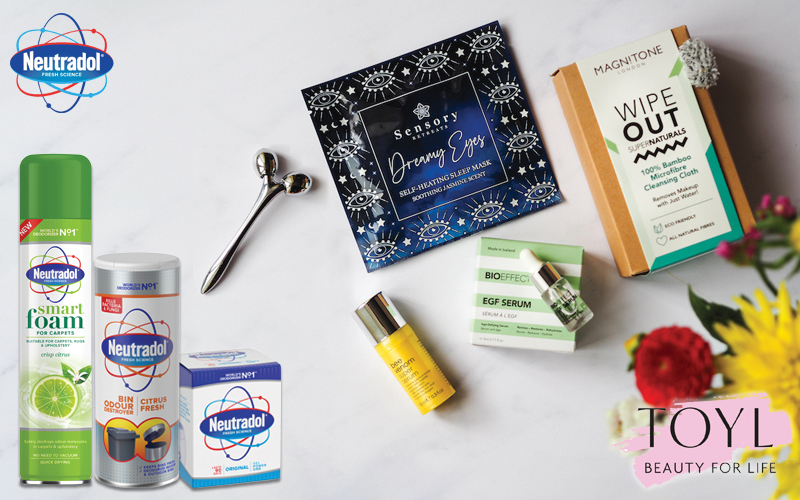 a 3 month subscription to TOYL and a bundle of Neutradol mixed products