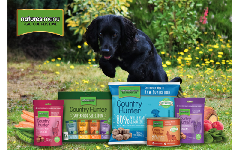 Win a £50 voucher to use on Natures Menu's website!