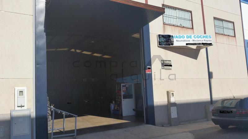 Amplia Nave Polígono La Barca de Cartaya (Huelva)