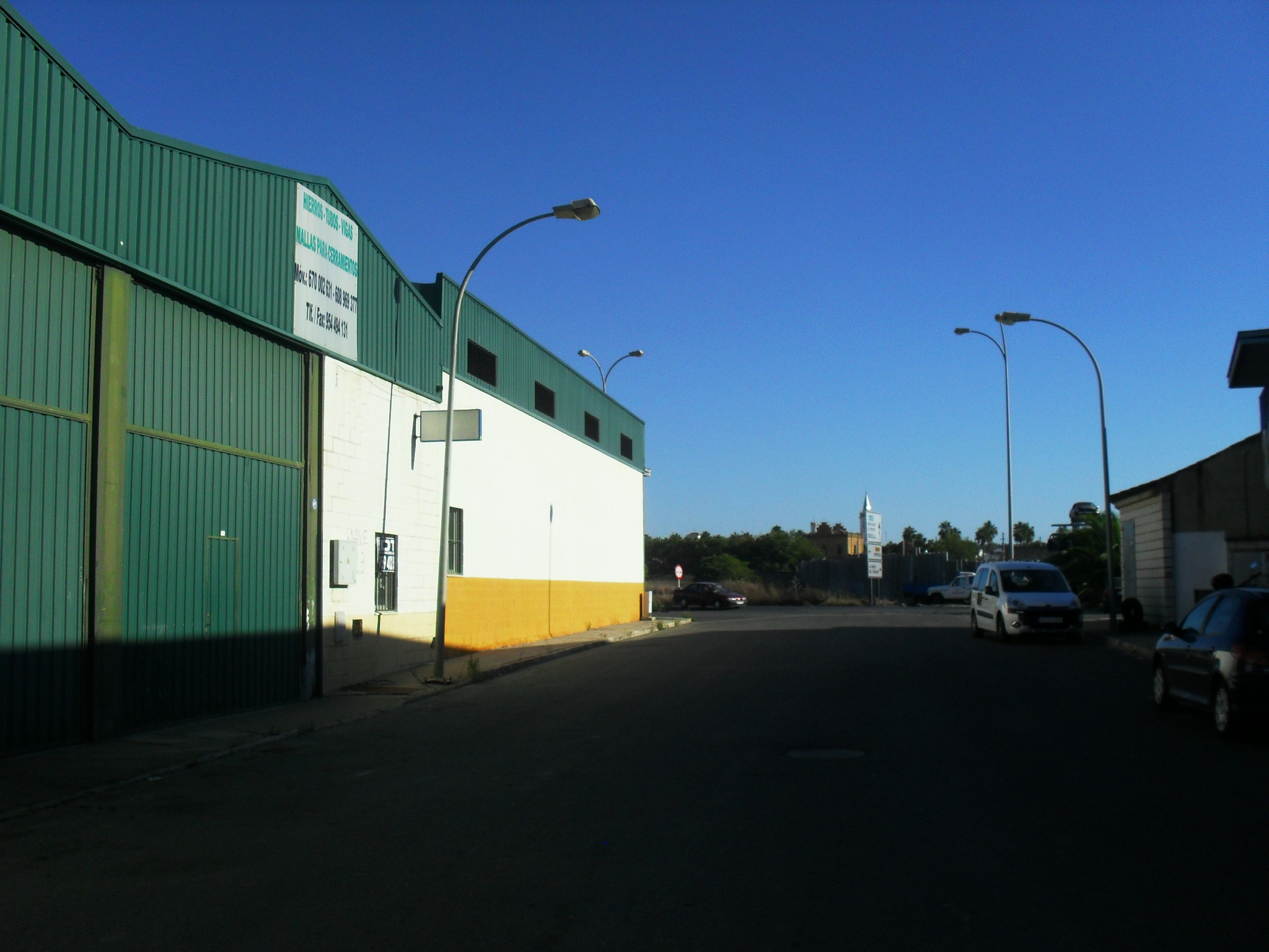 Nave industrial polígono VI centenario en La Palma del condado, Huelva