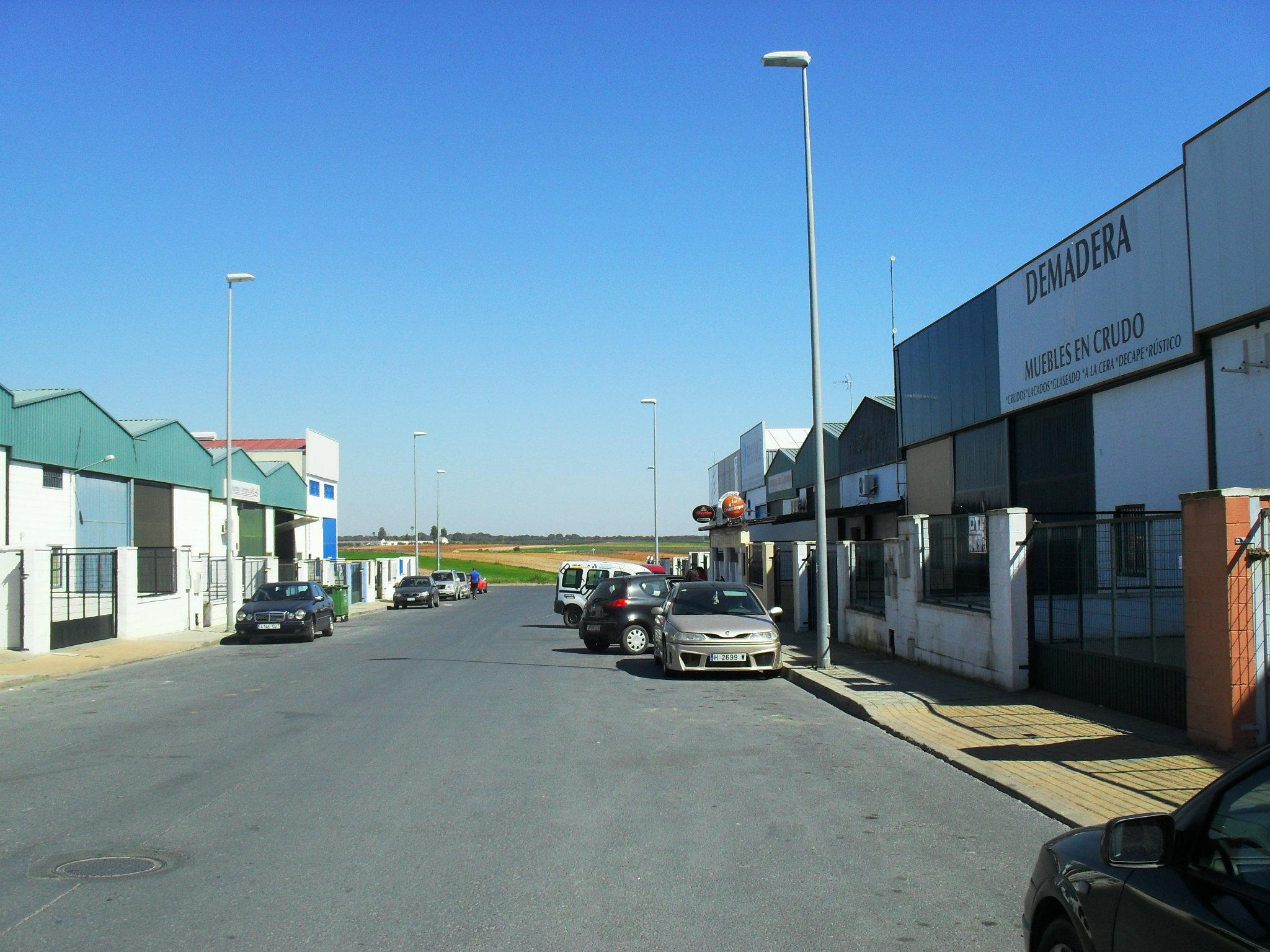 Nave industrial Políg. el Tomillar, en Almonte, Huelva