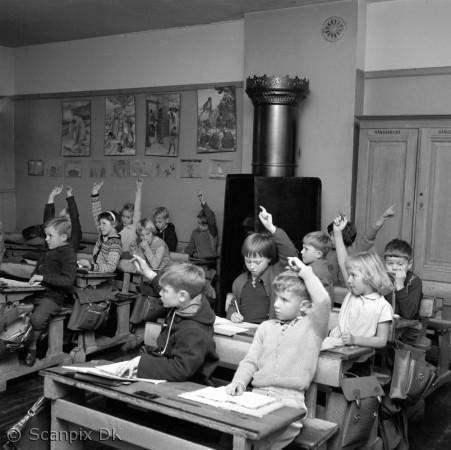 skolen i gamle dage opgaver