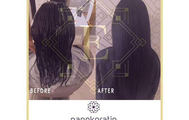 House of Evelyn Nano Keratin Hair Smoothing Treatment