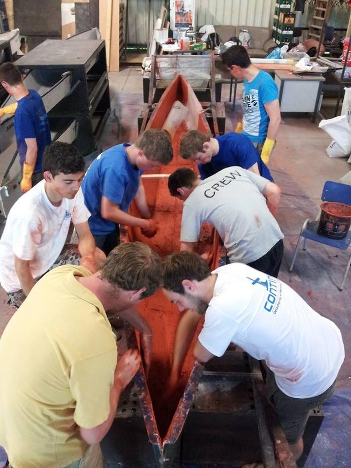 Come build a concrete canoe!