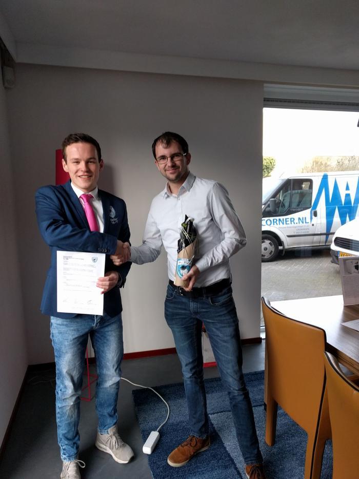 Hificorner.nl nieuwe sponsor van Drs. Vijfje