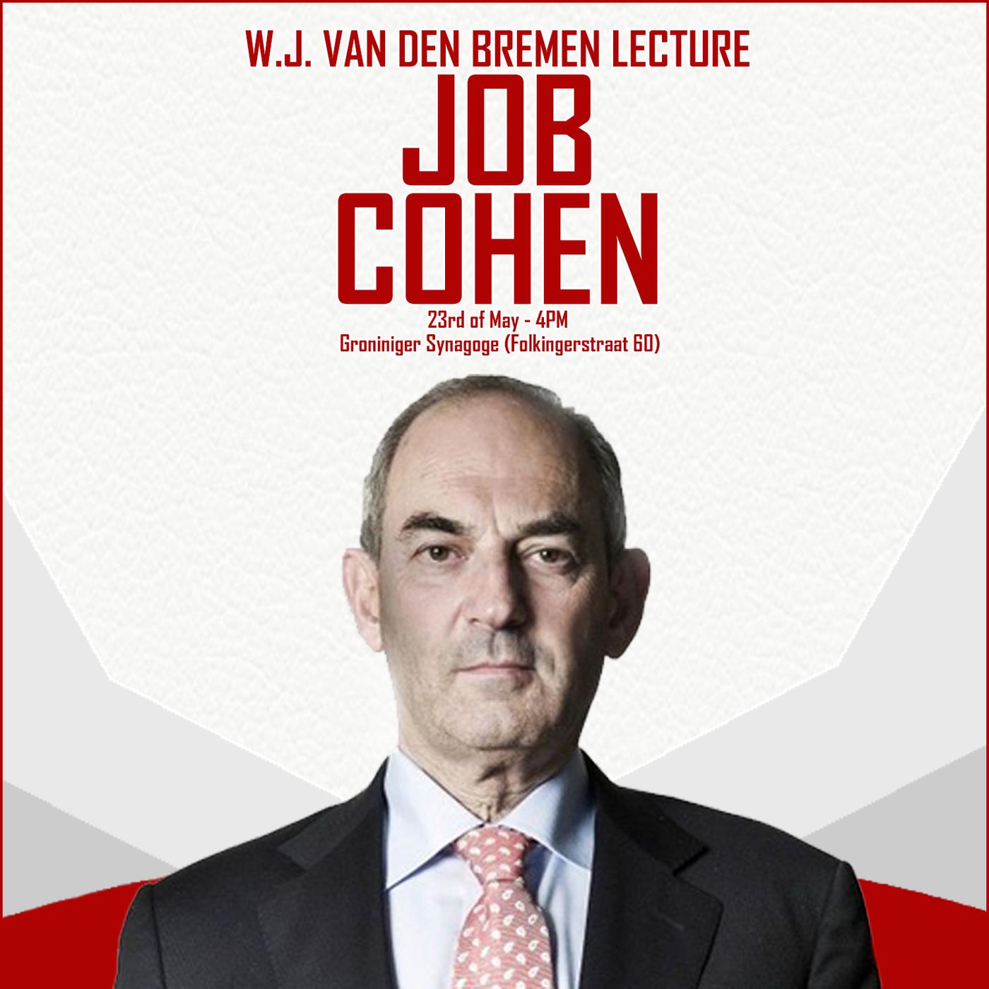 W.J. Van den Bremen Lecture | Job Cohen