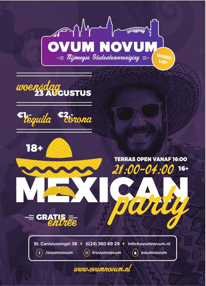 Open Introductie: Mexican Party