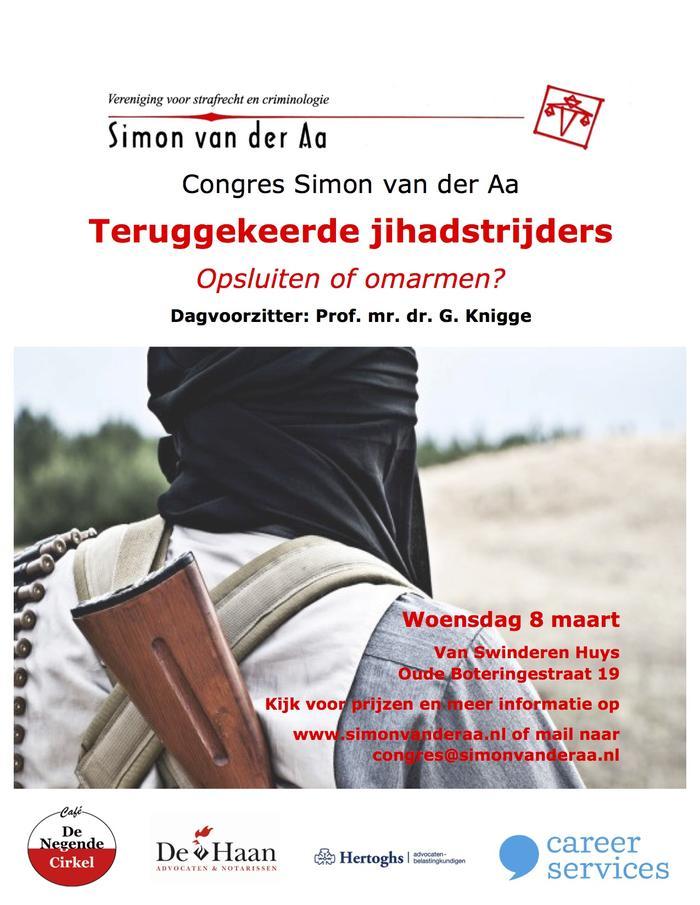 Congres teruggekeerde jihadstrijders