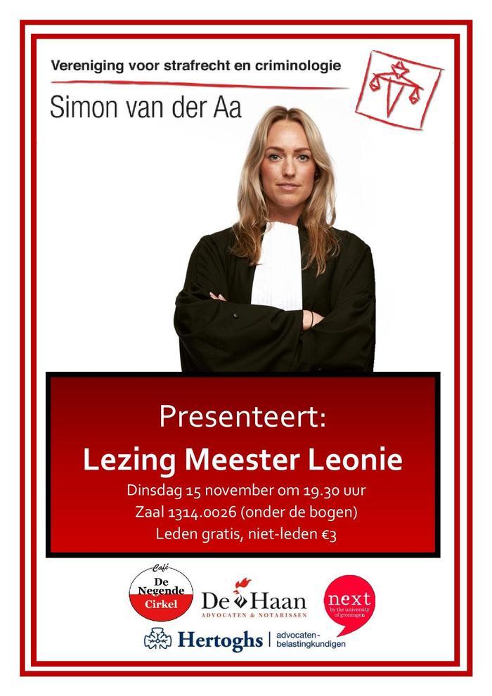 Lezing Meester Leonie