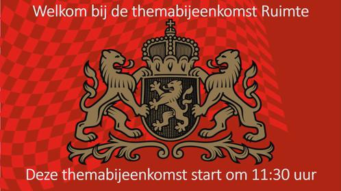 3 11:30 UUR - 13:00 UUR THEMA RUIMTE