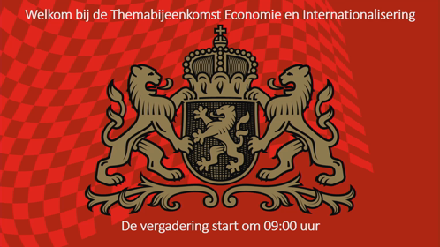 2 09:00 UUR - 10:30 UUR THEMA ECONOMIE EN INTERNATIONALISERING