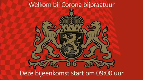 2 09:00 UUR Corona bijpraatuur