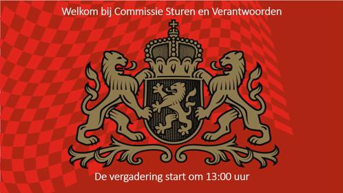4 13:00 UUR - 14:30 UUR COMMISSIE STUREN EN VERANTWOORDEN