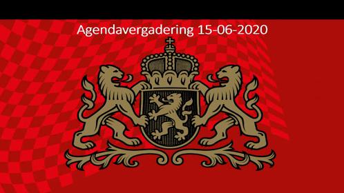 Presidiumvergadering 15-06-2020