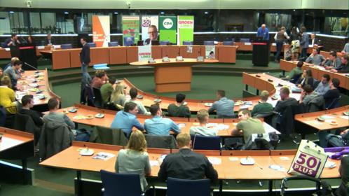Debat Landbouw met jonge boeren