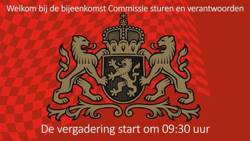 2 09:30 UUR - 11:00 UUR COMMISSIE STUREN EN VERANTWOORDEN