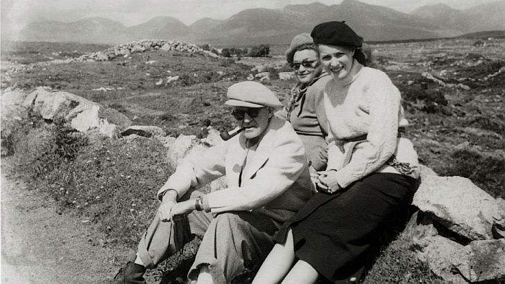 Maureen O'Hara & John Ford in Cong