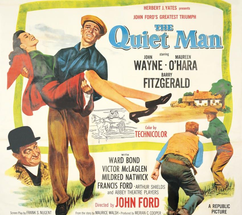 The Quiet Man Poster