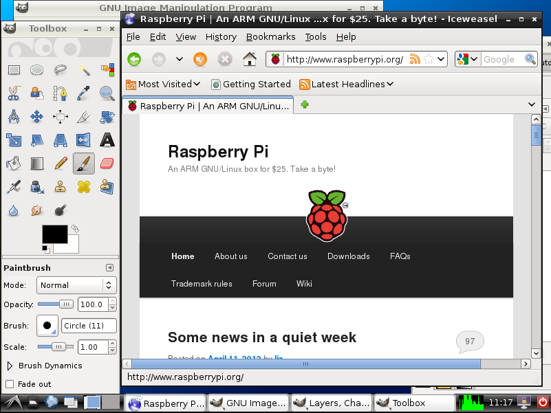 Whilst you wait for your Raspberry Pi, run the software on