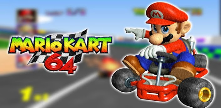 Unofficial Mario Kart 64 on Android and an $89 Tablet