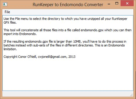 A simple tool to bulk import your RunKeeper data into