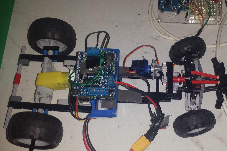 Lego servo motor steering for Rc car servo motor