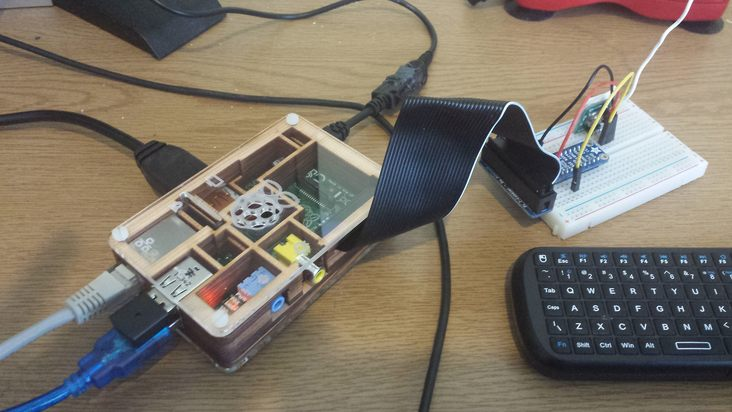 Interfacing Node js to Raspberry Pi hardware like 433Mhz