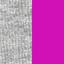 Gris / Fuchsia uni