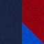 Marine / Bordeaux / Bleu roi